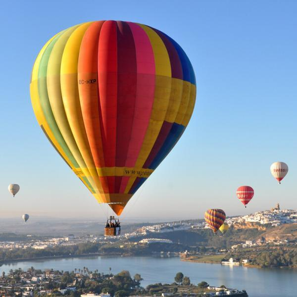 regalar vuelo en globo gloventosur