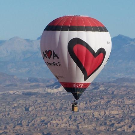 vuelo privado en globo gloventosur
